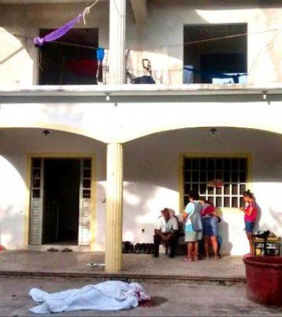 Fallece un hombre al caer de un segundo piso en Xul-Ha