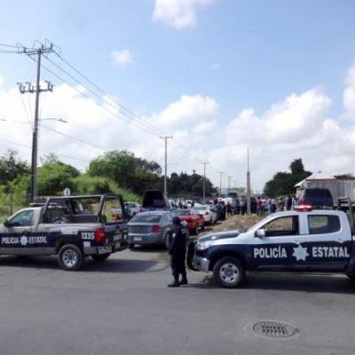 Disputan valioso terreno de 43 hectáreas en Chetumal; interviene la policía