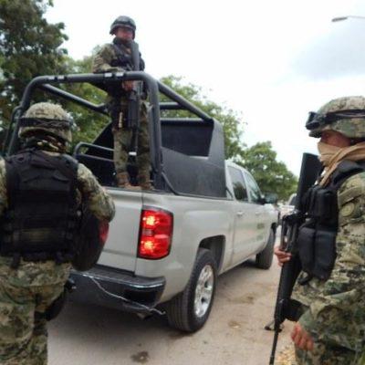 Detiene la Marina a hombre armado en la Costa Maya; lo vinculan con tráfico de especies en veda