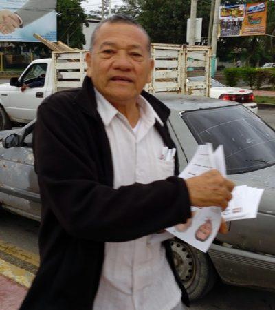 Presentan queja contra el Dr. Pech ante el Ieqroo 'por actos anticipados de campaña'