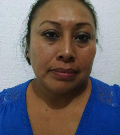 Identifican a mujer detenida como jefa de narcomenudistas para 'Los Pelones' en Cancún