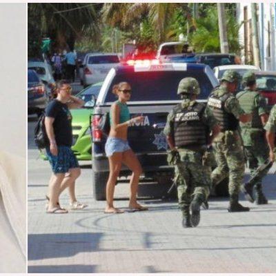 CAE OOOTRO NARCOTAXISTA EN PLAYA: Detienen militares y policías a distribuidor de droga en la zona turística; decomisan cocaína y marihuana