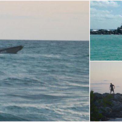SE HUNDE EMBARCACIÓN DE LA MARINA: Patrulla interceptora tipo Polaris de 30 mdp queda a la deriva y es tragada por el mar en Puerto Aventuras