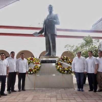 Va Borge a la Zona Maya para conmemorar aniversario luctuoso de Felipe Carrillo Puerto