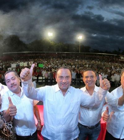OTRO 'PACHANGÓN' DE BORGE: Sigue gobernador celebrando su 'cumple', ahora con 10 mil personas en FCP