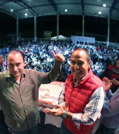 CALLA BORGE SOBRE ASESINATO DE NIÑA EN CANCÚN: Se exhibe Gobernador durante el undécimo megafestejo por su 'cumple', ahora en IM