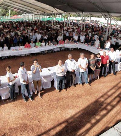 SIGUE 'BETO' DE FIESTA EN FIESTA: Celebra Gobernador 'cumple' y parte rosca en sendos festejos en Cancún y Cozumel para más de 20 mil invitados