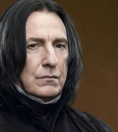 Víctima de cáncer, fallece a los 69 años el actor británico Alan Rickman; el profesor 'Snape' de Harry Potter y muchas películas más