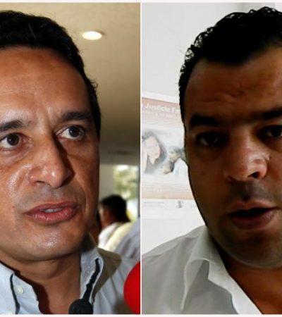 """VEN """"MUY POSIBLE RUPTURA"""" EN EL PRI: Tiene Carlos Joaquín las 'puertas abiertas' en el PRD, dice Alonso Ventre"""