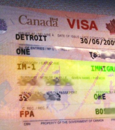 Filtran versión de que Canadá eliminaría visa a mexicanos a partir del 1 de diciembre