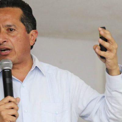Refuta Carlos Joaquín críticas de priistas por su renuncia; dice que la verdadera fuerza está en la gente