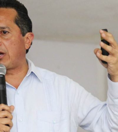 """PRIMER LOGRO PARA REVERTIR LEY BORGE"": Celebra Carlos Joaquín que Presidencia haya escuchado exigencia de quintanarroenses"