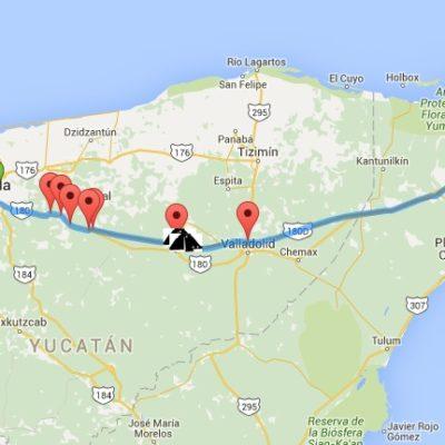 AUMENTAN PEAJE EN LA AUTOPISTA DEL MAYAB: Sin previo aviso, incrementan costo en la vía Cancún-Valladolid-Mérida
