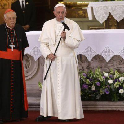 """""""SEAN ASTUTOS COMO SERPIENTES…"""": Pide el Papa a los jóvenes no dejarse tratar como mercancía ni ser mercenarios del narcotráfico"""