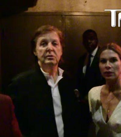 """""""¿QUÉ TAN VIP TENEMOS QUE SER?"""": Cadenero niega acceso a fiesta posterior a los Grammy a Paul McCartney, Beck y Taylor Hawkins"""