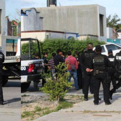 PRIMER 'ENCAJUELADO' DEL AÑO EN CANCÚN: Con una cadena de acero al cuello y amarrado, hallan a ejecutado en auto abandonado en la Región 201