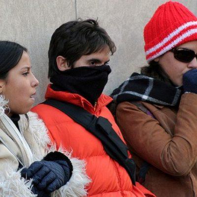 Reportan temperaturas de 7 grados en JMM y FCP y de hasta 4.5 grados en Mérida