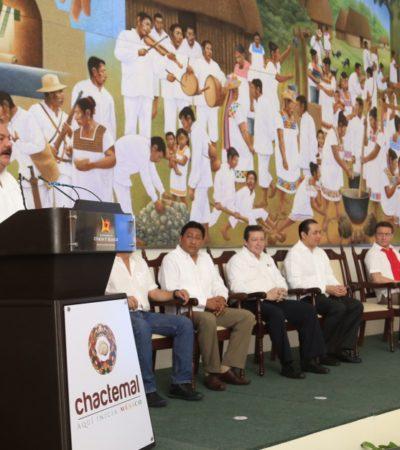Presenta Abuxapqui la marca 'Chactemal, aquí inicia México'