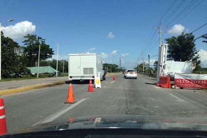 'PASO LIBRE' A LA 'FAYUCA': Tras bloqueo carretero, retira Armada retén en Subteniente López