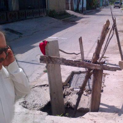 Reparará el municipio capitalino pozos defectuosos