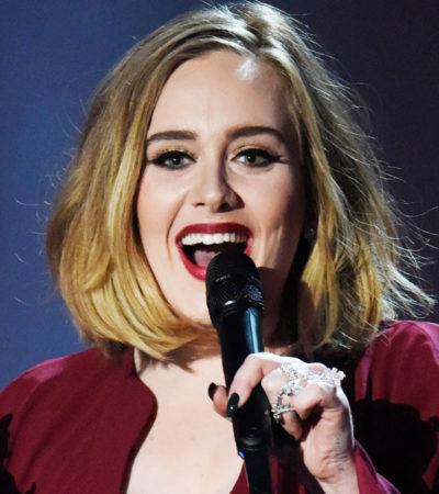 Triunfa Adele en los premios Brit, a lo mejor de la música en Gran Bretaña