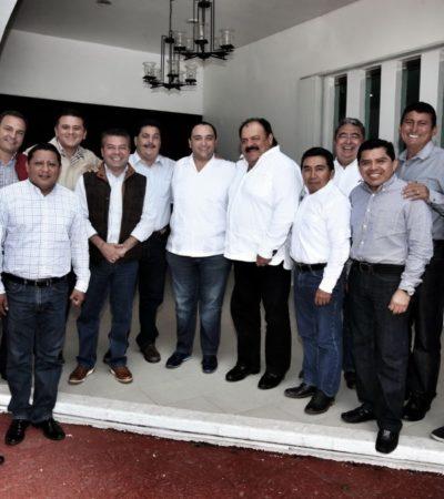 Rompeolas: Tras la ruptura, el PRI impone la unidad 'por decreto'