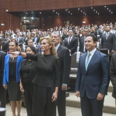 SARA LATIFE ES LA NÚMERO 500: Con 5 meses de atraso, la cozumeleña rinde protesta en el Congreso como diputada federal plurinominal por QR