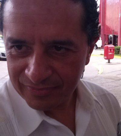 SALE CARLOS JOAQUÍN DEL PRI: Sin mayor explicación, presenta ex subsecretario de Turismo a Manlio su renuncia desde el pasado 5 de febrero; PRD y PAN aprueban alianza para QR y lanzan invitación abierta al ex priista