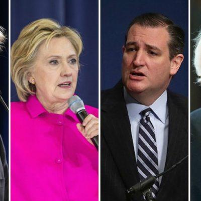 PRIMERA DERROTA PARA TRUMP: Ganan Hillary Clinton y Ted Cruz en la asamblea electoral de Iowa rumbo a la elección presidencial de EU