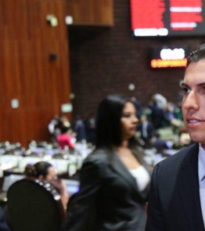DEJA 'REMBY' EL CONGRESO PARA IR POR CANCÚN: Con sólo 6 meses como diputado federal, tiene en la bolsa candidatura de la alianza PRI-PVEM-Panal