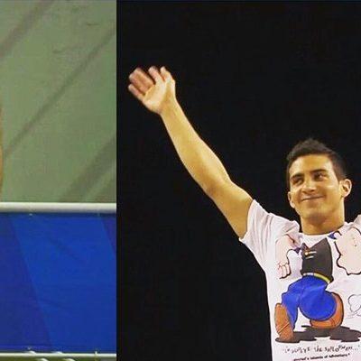 ORGULLO PENINSULAR: Gana el yucateco Rommel Pacheco oro en Copa Mundial de Clavados y entona himno nacional pese a castigo a México