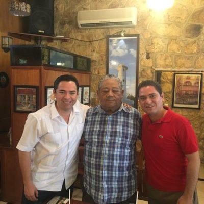 PEREYRA TAMBIÉN 'VELETEA': El ex secretario de Solidaridad primero apoyaba a Carlos Joaquín y ahora a 'Chanito'