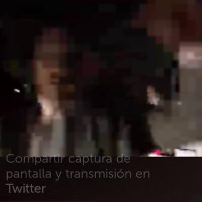 Golpean al 'City Manager' de la Miguel Hidalgo cuando grababa un operativo a través de Periscope