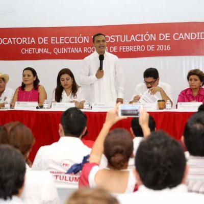 NO SALIÓ EL 'CABALLO', SÓLO UN 'BORREGO': Lanza PRI convocatoria para elegir candidato a la gubernatura en QR tras una jornada de rumores