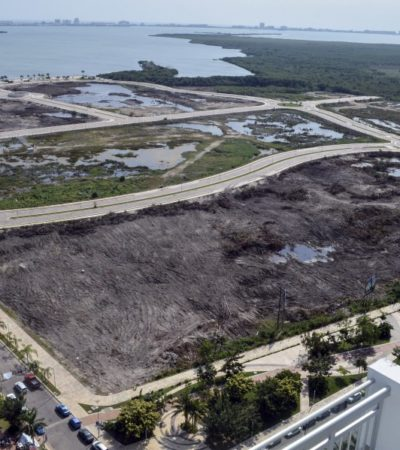 """""""NO QUEREMOS SER PARTE DE LA MAFIA"""": Amplían demanda por devastación en Malecón Tajamar Cancún e incluyen a la Gendarmería y a la PF"""