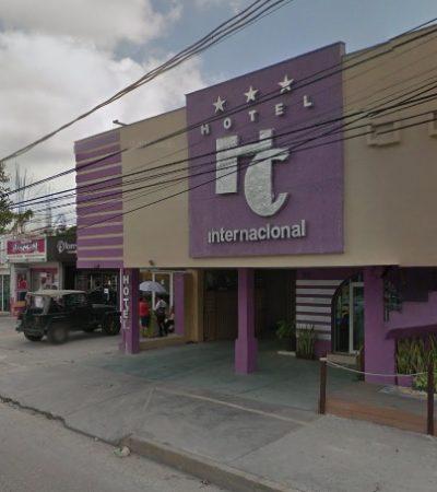 MUERE 'MULA' COLOMBIANA EN CANCÚN: En un céntrico hotel, fallece mujer que había ingerido cápsulas con droga antes de viajar a México