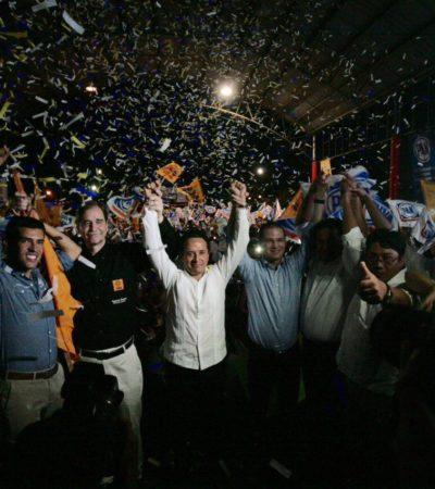 ROMPE CARLOS JOAQUÍN 'LANZAS' CONTRA EL GOBIERNO: Inicia el ex priista en Cancún precampaña hacia la gubernatura por la alianza PAN-PRD