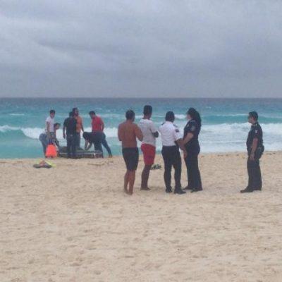 TRAGEDIA EN PLAYA DELFINES: En su luna de miel, se ahoga una joven turista de Toluca