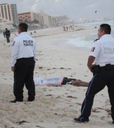 IGNORARON BANDERAS ROJAS: Se ahoga otro turista en Playa Delfines
