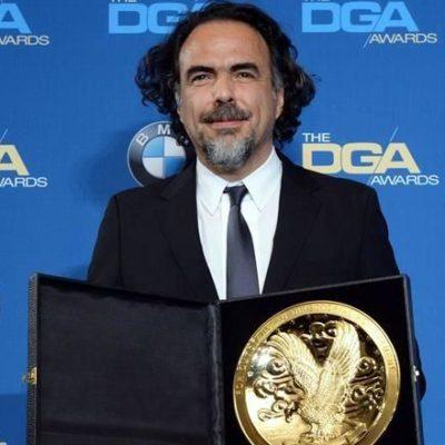 Por 'El Renacido', gana Iñárritu por segunda vez Premio del Sindicato de Directores