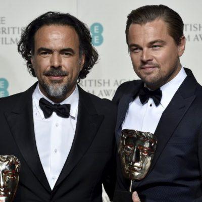 ARRASA 'THE REVENANT' EN LOS BAFTA: Ganan Iñárritu, Lubezky y DiCaprio en la gala británica a lo mejor del cine y van rumbo al Oscar