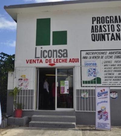 Aseguran que recortes no afectarán programa asistencialista Liconsa