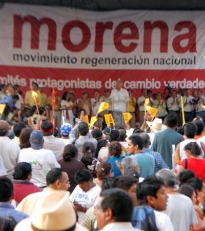 Aprueba Morena candidaturas de 7 municipios y de las 15 diputaciones locales en QR; se atoran con la nominación en Cancún