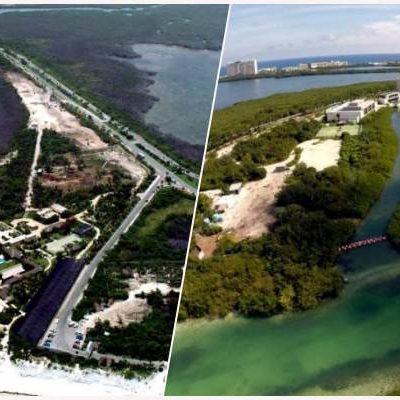 UN AÑO DESPUÉS, REACCIONA SEMARNAT: Abren investigación por dragado ilegal en zona de manglar en torno al hotel Nizuc Resort & Spa en Cancún