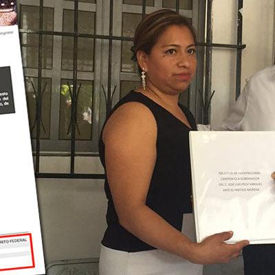 SE ANOTA PECH VÁRGUEZ EN MORENA… Y LO BALCONEAN: Precandidato de AMLO a la gubernatura de QR aparece en el padrón de afiliados del PRI