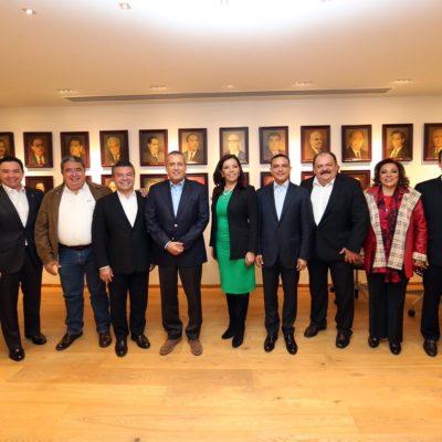 RATIFICAN PACTO DE 'UNIDAD' EN EL PRI: Para desactivar creciente tensión, se reúne Manlio con aspirantes a días de la nominación del candidato en QR