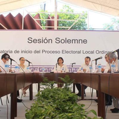 YA ESTÁ EN MARCHA PROCESO ELECTORAL: Empiezan a correr plazos para registro de candidatos; hoy aprobarán lineamientos para independientes