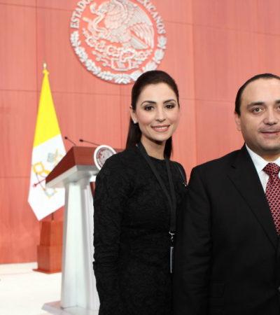 Presume Gobernador asistencia a evento con el Papa en Palacio Nacional