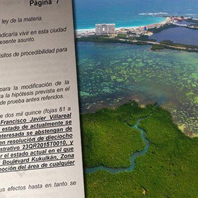 DAN FUERTE GOLPE AL GRUPO RIU EN CANCÚN: Concede juez suspensión provisional en contra de la construcción de polémico hotel en Punta Nizuc