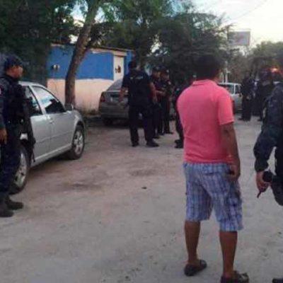 SEGUNDO INTENTO DE EJECUCIÓN EN MENOS DE 24 HORAS: Balean a hombre en la colonia Santa Cecilia de Cancún por presunto asunto de drogas